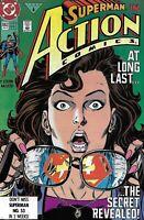 Superman Action Comics 662 Copper Age 1991 Clark Kent reveals identity to Lois