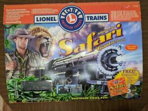 Lionel Safari Adventure Ready to Run O Gauge Train Set 7-21904