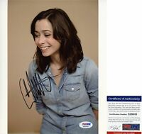 Cristin Milioti Signed 8x10 How I Met Your Mother A to Z PSA/DNA