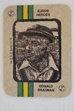 Don Bradman - ZeeNut Card - Aussie Heroes Series - # 8.