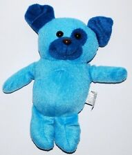Kelly Toy BLUE puppy dog stuffed plush animal 8""