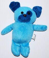"Kelly Toy BLUE puppy dog stuffed plush animal 8"""