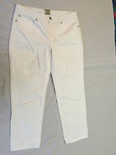HERITAGE DENIM BY BASS WOMENS JEANS CAPRIS PANTS COTTON SIZE 10