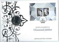 2012 5 POUND QUEEN ELIZABETH II DIAMOND JUBILEE PNC NUMBERED