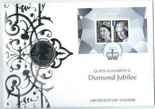 2012 5 POUND QUEEN ELIZABETH II DIAMOND JUBILEE PNC NUMBERED: 1586