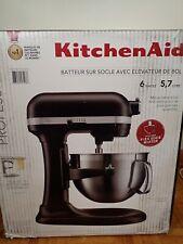 KitchenAid 6-Quart Pro 600 Bowl-Lift Stand Mixers 590-watt | Onyx Black + Extra