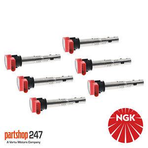 6x NGK U5014 / 48041 Ignition Coil Genuine NGK Component