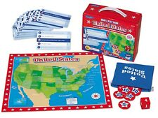 Factory Sealed United States Grab & Play Game by Lakeshore