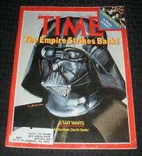 1980 May 19 Time Magazine Vg 4.0 Darth Vader Star Wars Empire Strikes Back