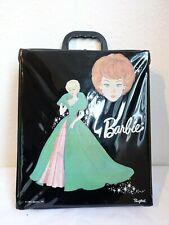 ★ VINTAGE BARBIE DOLL CASE ★ Original schwarzer Koffer ★ 1963 Sophisticated Lady