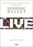 SPANDAU BALLET 'LIVE FROM THE N.E.C.' DVD NEW+!