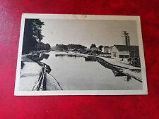 CPA animée  - Tonnerre - Port du Canal de Bourgogne - Entrepôt des Salines - 89