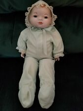 """Grace S. Putnam German Bisque Head Doll with Cloth Body 16"""""""