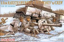 1/35 8.8CM RAKETENWERFER 43 W/CREW Dragon MODEL KIT 6097