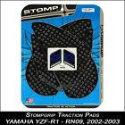 STOMPGRIP Pads de tracción YAMAHA yzf-r1 02-03 RN09 NEGRO PROTECTOR DEPÓSITO