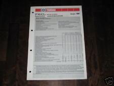 Inspektionsblatt Yamaha DT 80 LC 2