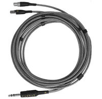 """CARDAS AUDIO CLEAR Upgrade Cable for MEZE EMPYREAN and ZMF Headphones 1/4"""", 2M"""