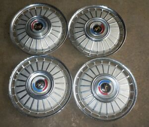 """1962 Ford Galaxie Wheel 14"""" Covers / Set 63 64 65 66"""