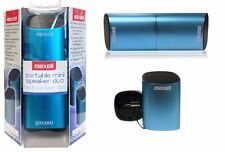 Maxell 191272 Beacon Portable Mini Speaker Duo (USB Powered & Rechargeable)--NEW