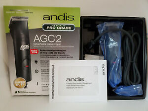 Andis AGC2 ProClip 2-Speed Detachable Blade Clipper, Professional Super Duty