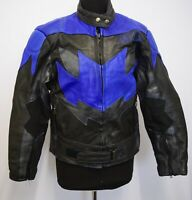 JT568 AKITO WOMEN'S LEATHER MOTORCYCLE RIDER  RACING SPORT JACKET SIZE 12 UK