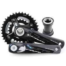 FSA Afterburner BB30 / PF30 Mountain MTB Bike Crankset w/PF30 38/24T 170mm/Black