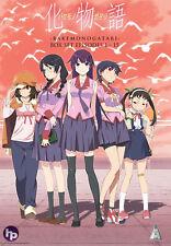 Bakemonogatari . The Complete Series . All 15 Episodes . Anime . 4 DVD . NEU OVP