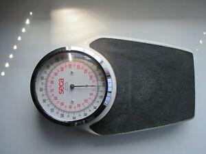 Vintage Seca Germany 320 LB  / 145 KG Large Dial Analog Bathroom Floor Scale