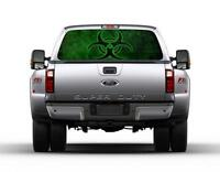 New York City 9//11 Liberty Statue B//W Rear Window Graphic Decal for Truck