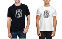 Mens COBRA KAI Karate Kid Movie Kung Fu T-shirt Martial Arts Retro Gift T Shirt
