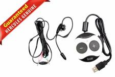 Hercules Gamesurround Muse XL Pocket LT3 External USB Sound Card W/Headset C80D8