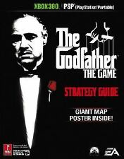 USED The Godfather: The Game Strategy Guide (Prima Games) XBOX 360/PSP w POSTER