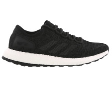 adidas Pureboost Primeknit Black White Men Running Shoes SNEAKERS Ba8899 UK 9.5