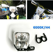 Universal Motorcycle Supermoto Headlight LED Dirt Bike Headlight Front Light