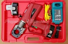 Burndy Patcut129 18v Battery Powered Hydraulic Cable Wire Cutter Rod Cutting New
