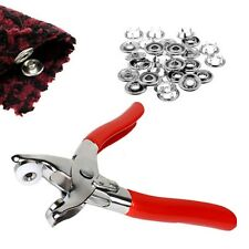 Plier 9.5mm for Prong Press Studs Open Ring Snaps Buttons Rings Rivets