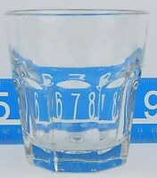 Libbey Duratuff Gibraltar Clear Rocks Glass 8oz New Free Shipping