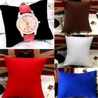 FD4216 Retail 5 Colors Watch Bracelet Jewelry Display Pillow Cushions Holder♫