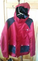 B by Burton Dryride Aster women's snowboarding ski jacket many features size m