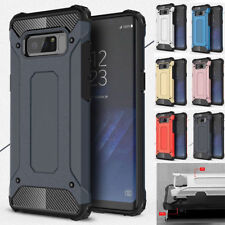 For Samsung Galaxy Note 4 5 S5 S6 S7 S8 S9 Shockproof Hybrid Armor Case Cover