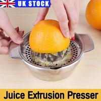 US Hand Press Commercial Pro Manual Citrus Orange Lemon Juicer Juice Squeezer