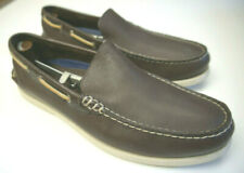 Sperry Top-Sider authentic slip on boat shoes 0191221 waterproof brown moccasin