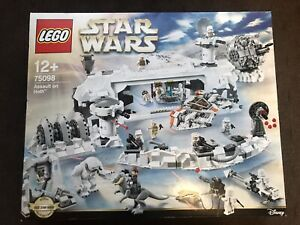 NEW SEALED LEGO Star Wars Assault On Hoth 75098 UCS FREE SHIPPING