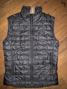 Patagonia Nano Puff Vest - Men's Medium ~ $149.00 Forge Grey 84242 Hiking Gray