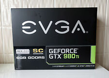 EVGA GeForce GTX 980ti SC + Superclocked (6GB GDDR5) acx2.0 + SCHEDA GRAFICA