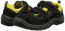 leichte Sommer Schuhe Sicherheitsschuhe Arbeitsschuhe S1 Klettverschluss schwarz
