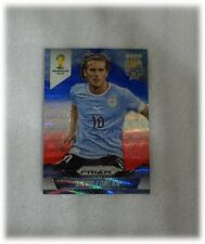 2014 Panini Prizm World Cup Blue Red Wave Diego Forlan - Uruguay #192