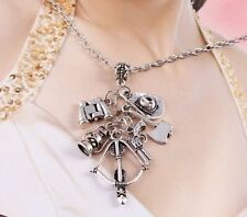 HOT TV Play The Walking Dead Unique Charm Long Chain Pendant Necklace Gift
