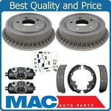 Rear Wheel Drive 92-02 S10 S15 Pickup Brake Drum Shoes Springs Wheel Cylinders