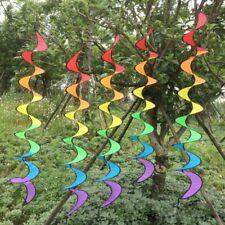 Sale Rainbow Windmill Spinner Pinwheel Colorful Pinwheel Rainbow Wind Spinner